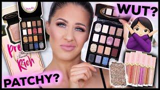 *NEW* TOO FACED PRETTY RICH COLLECTION | SWATCHES, DEMO & REVIEW - WORTH IT!!??