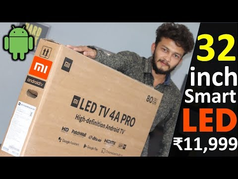 video Mi LED Smart TV 4A PRO 80 cm (32) with Android