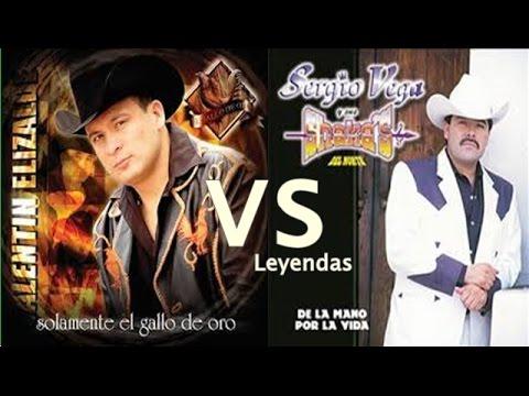 Valentín Elizalde VS Sergio Vega ¡DUELO DE LEYENDAS!