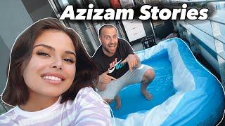 Wir haben uns einen POOL gekauft 😛 | AZIZAM STORIES