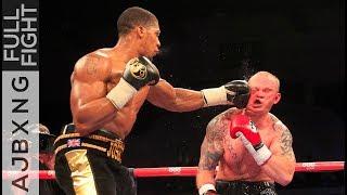 Full Fight | Anthony Joshua Vs Dorian Darch TKO