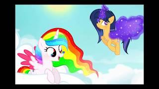 MLP - Art Trade for Princess Rainbow Dream - I love flying! [Speedpaint] [Next Gen]