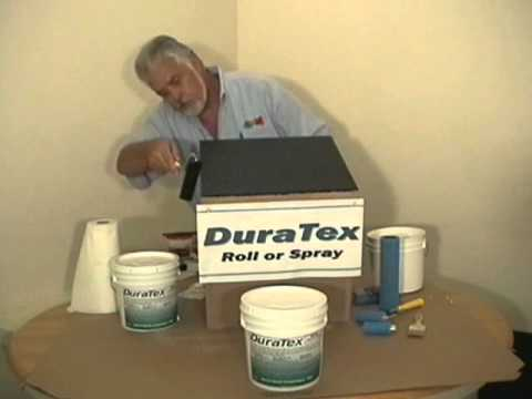 DuraTex Roller Application
