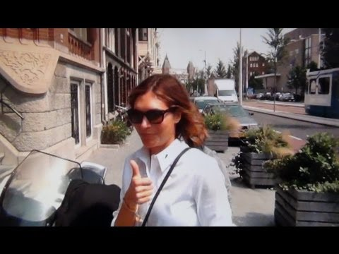 Ayda Field in Amsterdam - YouTube