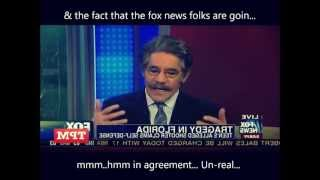 Geraldo Rivera is a racist ignorant MORON. Hates blacks, mexicans, HOODIES, ect!  ft Tupac