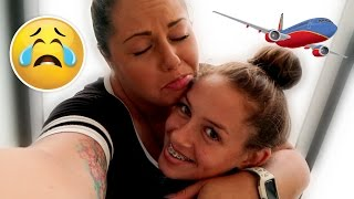 10 YEAR OLD FLIES ON A PLANE ALONE?!?