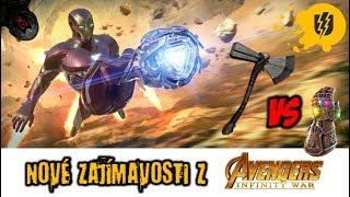 AVENGERS: Infinity War - Stormbreaker vs Rukavice Nekonečna a další