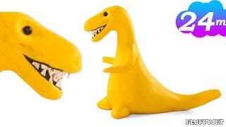 T-REX DINOSAUR Animation - Make Tyrannosarus Rex -dinosaur cartoon