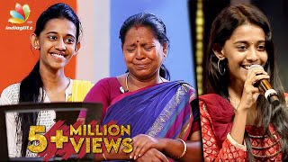My mom SINGING skills helped me : Super Singer Priyanka Interview | Chinna chinna vanna kuyil