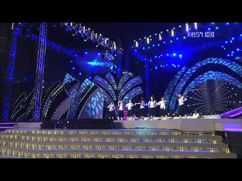 110911  T-ara-Roly Poly(Copacabana Ver.)+Why Are You Being Like This @KBS Open Concert