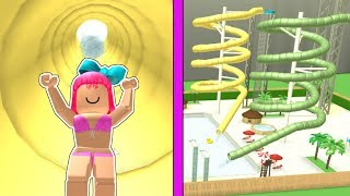 Roblox: OPENING A 5,000,000 DOLLAR WATER PARK!!!