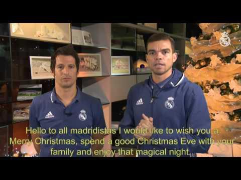 Happy holidays from Pepe and Fábio Coentrão!