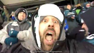 Eagles Fan REACTION - Eagles beat Atlanta Falcons
