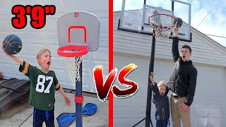 7 Year Old EXPOSES 19 Year Old GIANT in 1v1 Basketball | Colin Amazing
