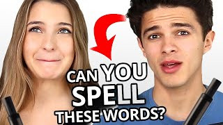 Siblings Spelling Challenge - Who Can Spell Better? w/ Brent and Lexi Rivera