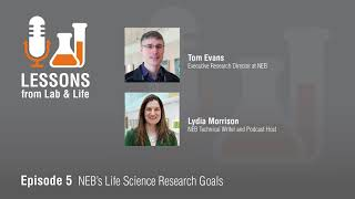 Interview with Tom Evans: NEB's Life Science Research Goals