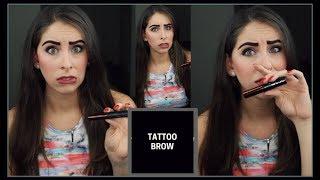 Tattoo Brow MAYBELLINE - Mi opinión y tutorial - Cejas permanentes en casa 😱