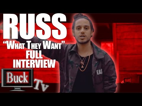 RUSS What They Want Full Interview with Dj Meddi  Streetz 103.3 On Buck Tv