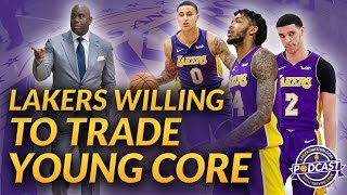 Are The Lakers Willing To Trade Young Core: Brandon Ingram, Lonzo Ball, Kyle Kuzma, Josh Hart