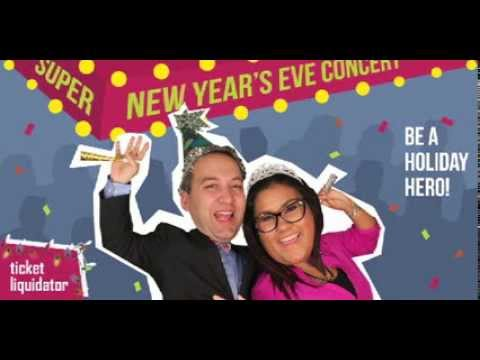 Be a Holiday Hero with Ticket Liquidator!  Find Things to Do on New Year's Eve!