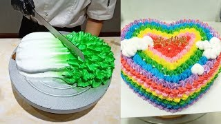 Satisfying Cake Decorating Videos So Yummy | Easy Cakes Recipes Tutorials #48