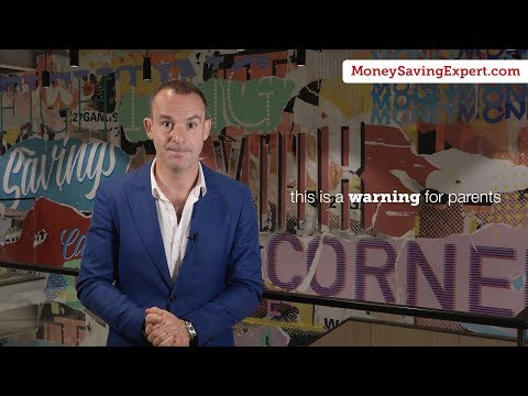 Martin Lewis: A warning for all parents