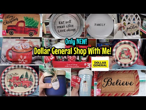 NEW DOLLAR GENERAL SHOP WITH ME! NOV 2020 CHRISTMAS 2020 THANKSGIVING & MORE GIFT SETS