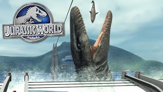 VISIT JURASSIC WORLD!!! - Jurassic Explorer Gameplay