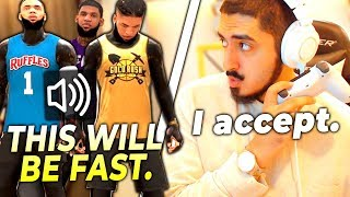 One of the best 3v3 teams in the world challenged me for $500, and I accepted (NBA 2K20)