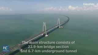 Nakon sedam godina rada otvara se najduži most na svijetu od 55 kilometara (VIDEO)