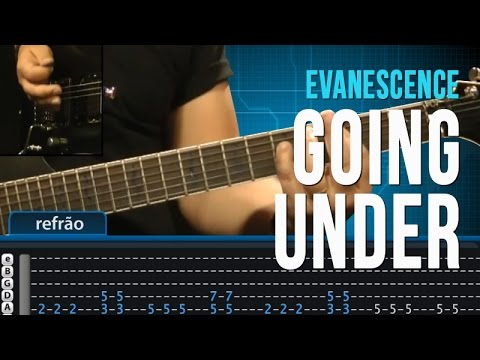 Baixar Evanescence - Going Under - Aula de Guitarra - TV Cifras