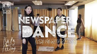 Isa Pa With Gilings (Newspaper Dance)   Carlo Aquino and Maine Mendoza   Isa Pa With Feelings