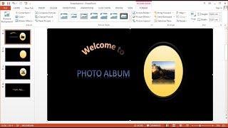 Tutorial PowerPoint 2013 |Cara Membuat Presentasi Animasi Slide Show Foto dengan Music di Powerpoint