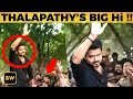 Thalapathy 63: Vijay stands on his Car and says BIG Hi to Fans