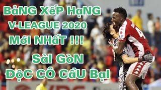 Kết quả vòng 9 V-League 2020 | Bảng xếp hạng  V-League 2020 mới nhất