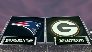 Madden 17: New England Patriots Vs Green Bay Packers (No Tom Brady?!?)