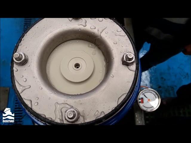 Operação de vedação de baixa pressão da válvula ventosa C70