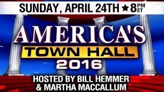 Fox News hosting live town hall in Philadelphia on April 24