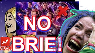BRIE LARSON EDITED OUT OF AVENGERS ENDGAME! SJWs are MAD ON THE INTERNET!