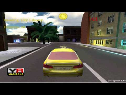 3D Taxi - Unity3D driving game in development Y8 test ...