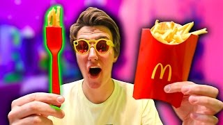 McDonalds Made a Smart Fork? (The Frork)