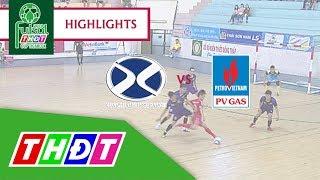 Highlights Futsal Truyền hình Đồng Tháp 2018 | Bảo hiểm Xuân Thành Đồng Tháp - Khí Cà Mau | THDT
