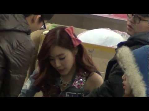 130126 영등포 Time Square 소녀시대 I Got A Boy 팬사인회 (full ver.)