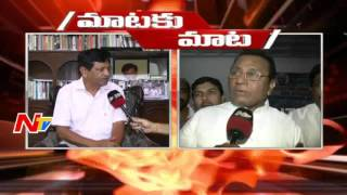 Maataku Maata : Mysura Reddy vs Mekapati Rajamohan Reddy..