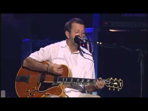 Eric Clapton - Over the Rainbow (with lyrics)