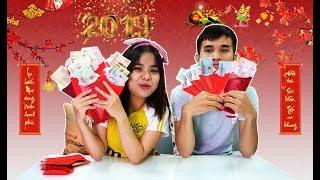 Thử Thách tìm TIỀN trong Phong Bao LÌ XÌ...(Challenges Where Is Money???)