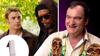 """It felt pretty good!"" Quentin Tarantino on 'appearing' in The Avengers, Team America and Shrek."