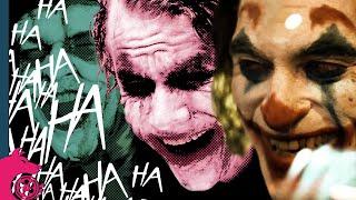 The Evolution of The Joker's Laugh