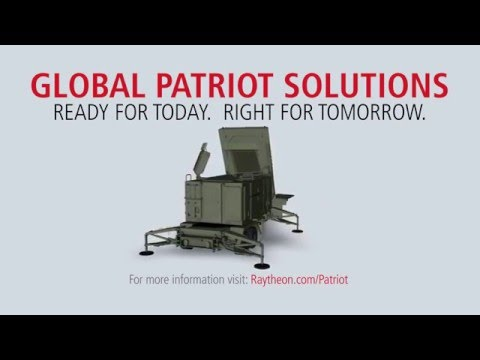 Introducing the future of Missile Defense. Raytheon's re-engineered Patriot radar prototype uses two key technologies - active electronically scanned array, which changes the way the radar searches the sky; and gallium nitride circuitry, which uses energy efficiently to amplify the radar's high-power radio frequencies