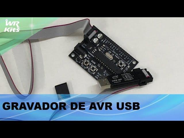 GRAVANDO UM MICROCONTROLADOR AVR COM USB ISP!